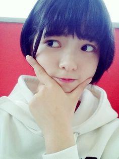 平手友梨奈 Short Hair Styles, Idol, Wattpad, Kawaii, Singer, Cute, Beautiful, Beauty, Yurina Hirate