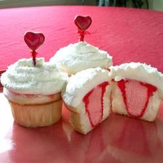 Sweetheart Cupcakes - just in time for Valentine's Day