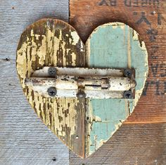 the state of my heart love art with architectural salvage