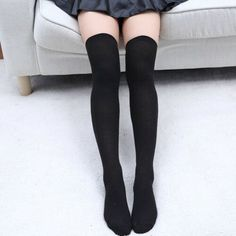 Dress Socks Glitter Galaxy Ocean Mermaid Scale Long Knee Hose Tights Stockings
