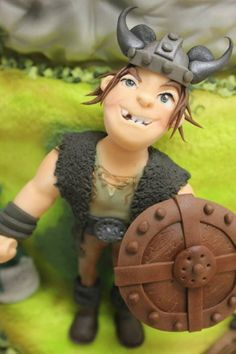 How to Train Your Dragon Cake - Snotlout