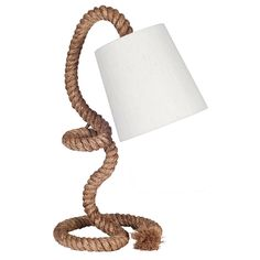 ROPE T/LAMP NATURAL