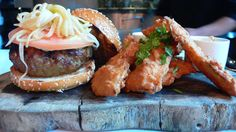Thai Burger with Chiang Mai Fries, Ngam, East Village, NYC