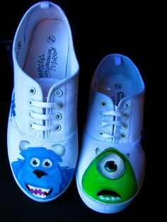 Great way to take kids shoes from boring to bright and whimsical.