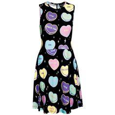 No Sweetheart Skater Dress [B] | KILLSTAR
