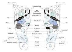 Návod na masáž nôh Map, Therapy, Location Map, Maps