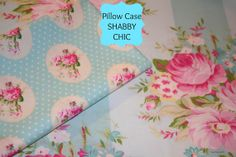 Pillow Case Shabby Chic BEDDING   Standard Size 20 by SewSewGlam, $12.00