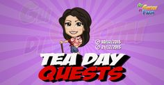 Tea Day Quests  Inizio previsto per il 10/12/2015 alle ore 13:30 circa Scadenza il 24/12/2015 alle ore 19:00 circa  Hey Agricoltore!Oggi è ilTea Day! E quel periodo dellanno in cui si fannoregali! Voglio costruire con il mio pacco regalo! Vuoi darmi una mano?    Mancano 16 giorni 7 ore 47 minuti 24 secondi alla scadenza della quest!    Quest #1  Fatti mandare dai tuoi vicini 7 Tea Pot; con gli sconti SmartQuest dovrebbero servirne un massimo di 1 (clicca sul tasto Ask Friends per pubblicare…