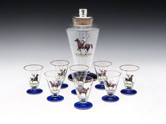 Polo Cocktail Shaker & Glasses