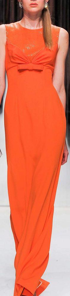 Designs in Orange & Coral #Orange #Coral #OrangeFabrics #CoralFabrics #OrangeDresses #CoralDresses #OrangeFashion #CoralFashion #Moda #TelasNaranjas #TelasColorCoral #RexFabrics #Textiles #Tecidos #Couture #HauteCouture #Chic #OrangeCouture #CoralCouture #OrangeGowns #CoralGowns