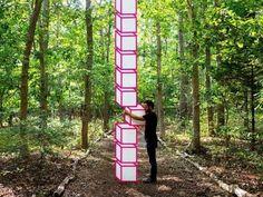 二次元×三次元の「テープアート」