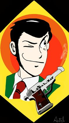 Lupin 3 Walther P38