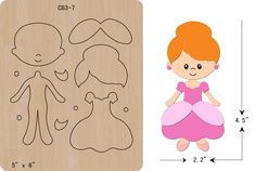 The thickness is and is compatible with most leading machines.new Girl, princess Wooden Die Thick Cutting Dies Scrapbooking Felt Animal Patterns, Stuffed Animal Patterns, Flower Template, Crown Template, Heart Template, Butterfly Template, Felt Templates, Applique Templates, Card Templates