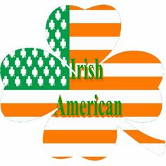 Free Vintage Irish and American Flags Clip Art | Irish, Flags and ...