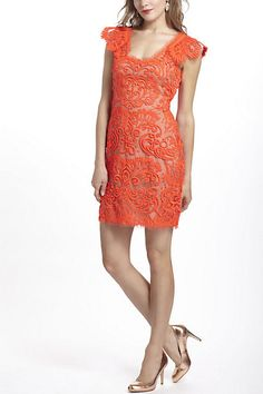 Sunblaze Lace Dress - Anthropologie.com {Rehearsal? Shower? Just because?}