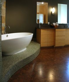 Contemporary Art Websites Find this Pin and more on Cork bathroom flooring by icorkfloorforna