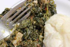 Epinards sautés au Boeuf ou « gboma dessi » (recette togolaise)