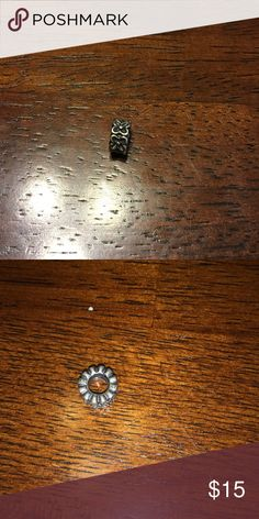 Authentic Retired Pandora Spacer Authentic Retired Pandora Spacer. Sorry can't remember the exact name. Tried to take the best picture of the 925 ALE stamp Pandora Jewelry