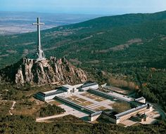 Valley of the Fallen, Spain. By far the coolest and most tragic place I've been to.