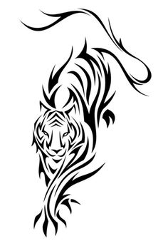 This is a series of 12 tribal tattoo designs I did based on the Chinese Zodiac. Tribal Tattoos, Tribal Tiger Tattoo, Zodiac Tattoos, Tribal Tattoo Designs, Body Art Tattoos, Hand Tattoos, Tiger Tattoodesign, Stammestattoo Designs, Henna Designs