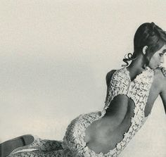 :: Veruschka by Irving Penn, 1967. I remember seeing this photo (I was 10) and being shocked cuz it showed her butt crack.
