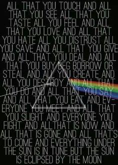 Pink Floyd. Love.
