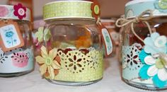 Cute ideas for recycling nutella jars