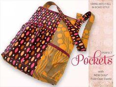 Free Bag Pattern: Boho Shoulder Bag