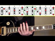 """How to Solo Over the Entire Fretboard Using """"5 Pentatonic Positions"""" - YouTube"""