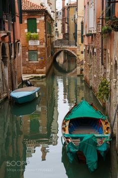 """Venice - """"Back Street"""" Canal Series by domica70"""