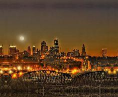 Moon over Kansas City