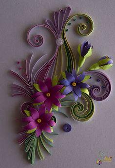 *QUILLING...Paper craft
