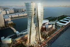 Honk Kong için havayı temizleyen gökdelen projesi önerildi