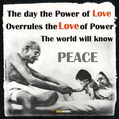 Today is Mahatma Gandhi's birth anniversary  #MahatmaGandhi #Peace #NonViolence #Power #Greed