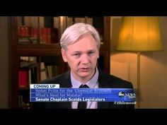 Julian Assange ABC This Week Interview On The Fifth Estate Movie. Very interesting and kind with Benedict Cumberbatch.