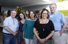 Antonio Anastasia, Marina e Laura Medioli, Regina e Marcio Lacerda