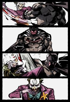 Read Batman telltale series from the story !Imagenes batjokes¡ by (Laura Shina) with reads. Joker Batman, Bat Joker, Joker Dc Comics, Funny Joker, Joker Art, Dc Comics Art, Cute Comics, Batman Art, Joker And Harley