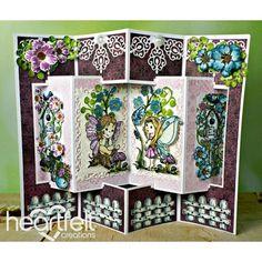 New Ideas Birthday Card Template Heartfelt Creations Fancy Fold Cards, Folded Cards, Birthday Card Template, Birthday Cards, Birthday Bash, Heartfelt Creations Cards, Shaped Cards, Pop Up Cards, Invitations