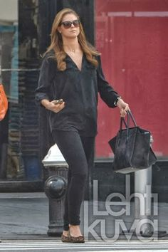 Princess Madeleine of Sweden shopping in New York City.