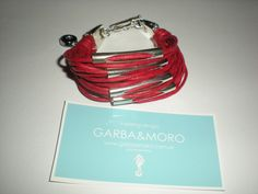 red NICOYA bracelet  http://www.etsy.com/shop/GARBAMORO