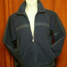 (OO) Nike Jacket (Slightly Used) Navy Blue Nike Jacket Nike Jackets & Coats