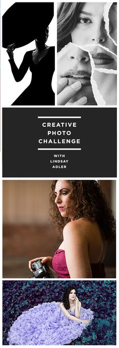 "What if you had 10 new and attainable creative portrait projects sent directly to you?   ""Challenges"" that took you out of your daily grind got you outside, gave inspiration for a rainy day and helped you find what you love to shoot?      Sign up for free, and get this bi-monthly series of challenges designed to bust you out of your comfort zone delivered right to your inbox."
