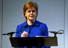 Nicola Sturgeon faces a tough test of political mettle. Image: Lisa Ferguson