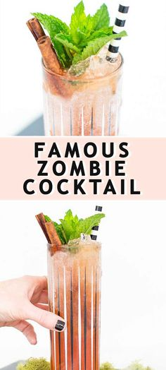 Creepy Halloween Food, Halloween Recipe, Zombie Recipe, Zombie Cocktail, Zombie Food, Coffee With Alcohol, Diy Wedding Backdrop, Good Food, Yummy Food