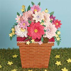Flower Pot Card #Tutorial   docrafts.com
