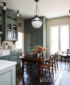 Traditional Eat-In Kitchen | House & Home