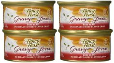Purina Fancy Feast Gravy Lovers Beef Feast Food 24 By 3 Oz Wow I Love This Check It Out Now Cat Food Food Cat Food Storage Cat Food