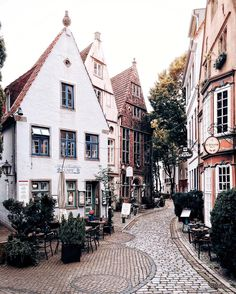 Wintery cafe scene in Bremen Germany by ? Places Around The World, Oh The Places You'll Go, Places To Travel, Travel Destinations, Places To Visit, Around The Worlds, Bremen Germany, Europe Photos, A Whole New World