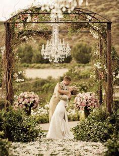 Ceremony Decor   Over the top romance
