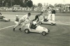 Hayward Quarter Midget Racing Club - Hayward, CA. (1966)